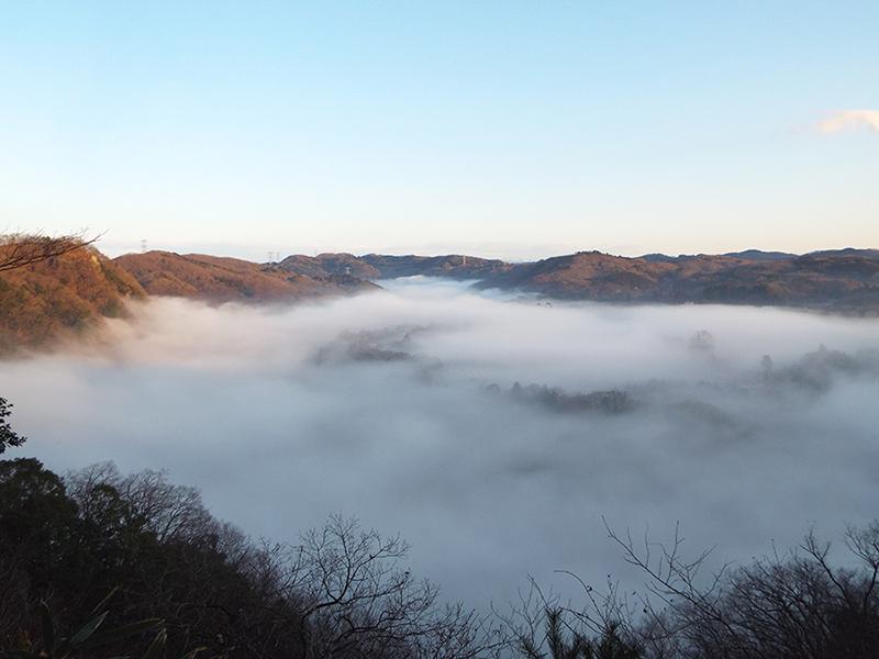 鷲巣キャンプ場から見る雲海