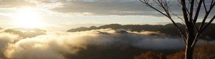 西山高原キャンプ場から見る雲海