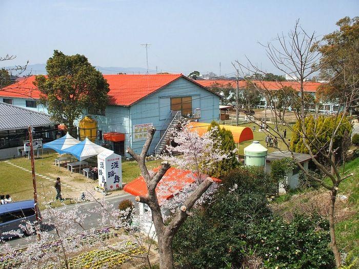 淡路島牧場のバーベキュー場