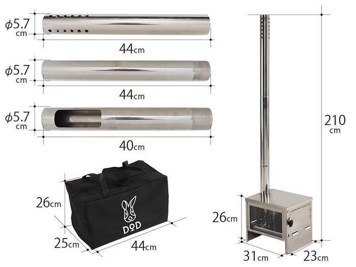 スケスケのまきちゃんの製品サイズ詳細