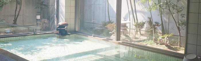 オートビレッジYOSHIDAの温泉
