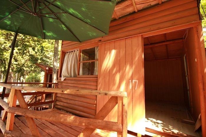 西丹沢大滝キャンプ場の宿泊施設
