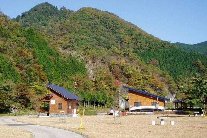 大佐山オートキャンプ場の外観