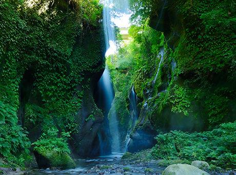 由布川渓谷の滝
