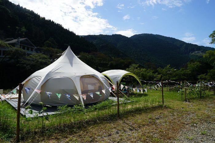 月ヶ谷温泉村キャンプ場 パンゲア