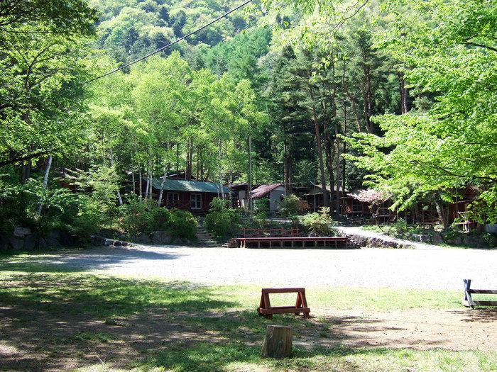 紅葉台キャンプ場の景観