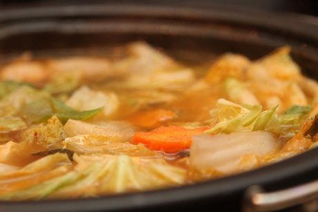 キムチ鍋の写真