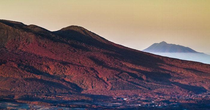 八幡岳キャンプ場からの雄大な景色