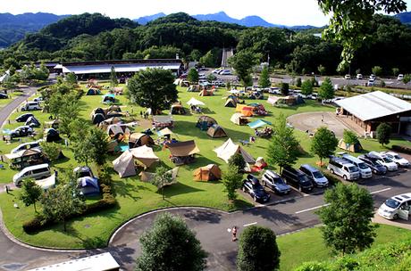 大子広域公園オートキャンプ場 グリンヴィラの外観