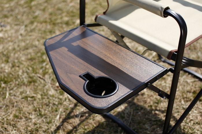 Folding Deck Chairのサイドテーブル
