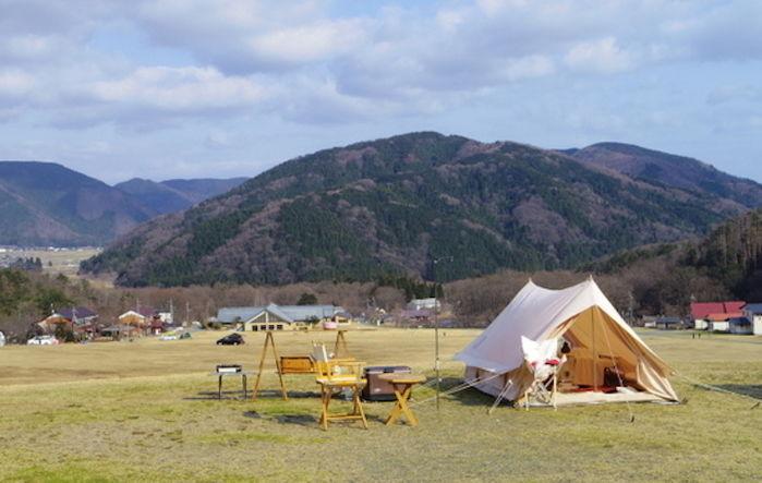 マキノ高原キャンプ場の外観