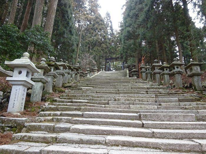 愛宕神社の階段