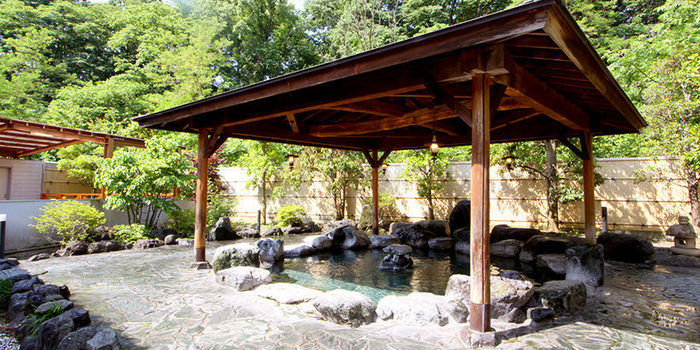 武甲オートキャンプ場も露天風呂