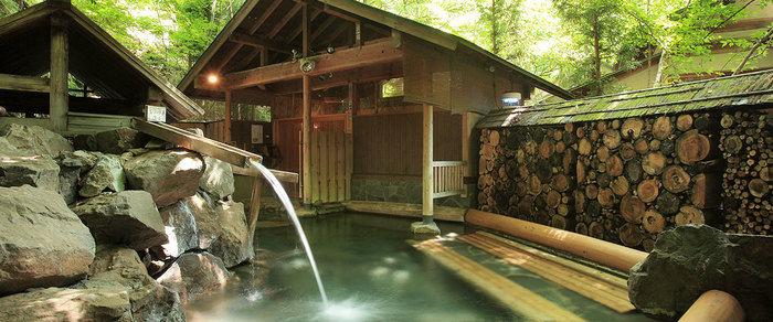 作並温泉ゆづくしSalon一の坊のお風呂