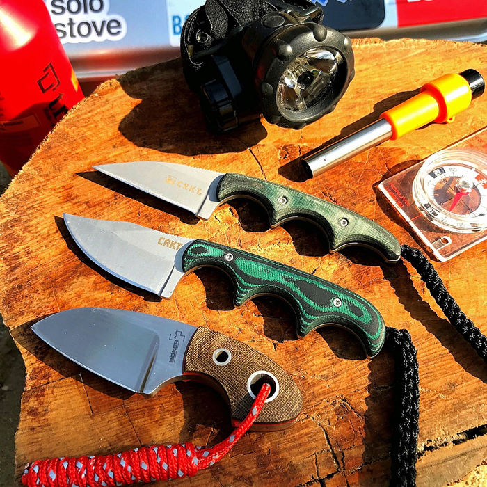 @numacci5050の3本のネックナイフ