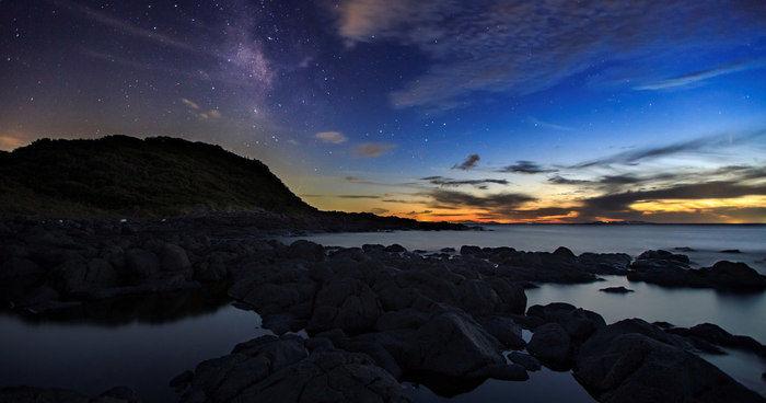波戸岬と玄界灘