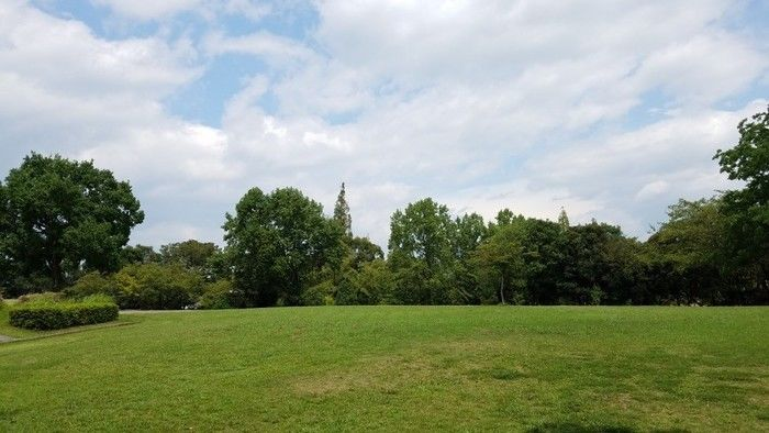 大曽公園キャンプ場の景観