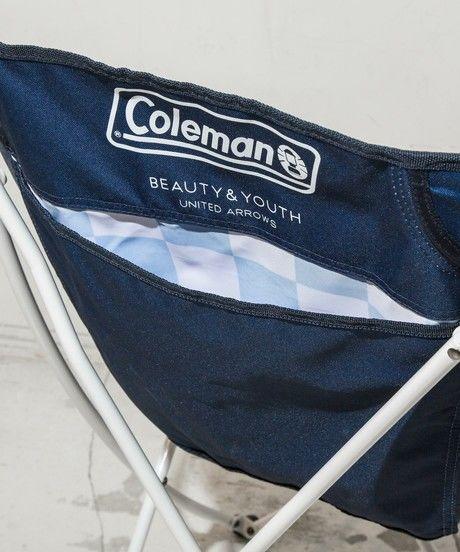 コールマンのヒーリングチェアーの背面のポケット
