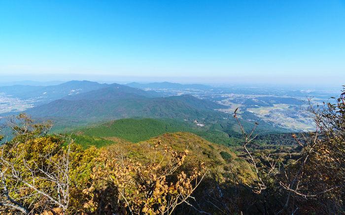 筑波山から見える景観