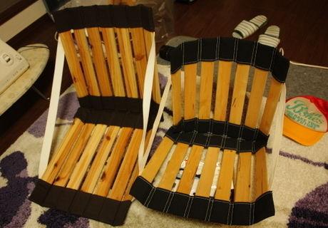 エルゴ風座椅子の写真