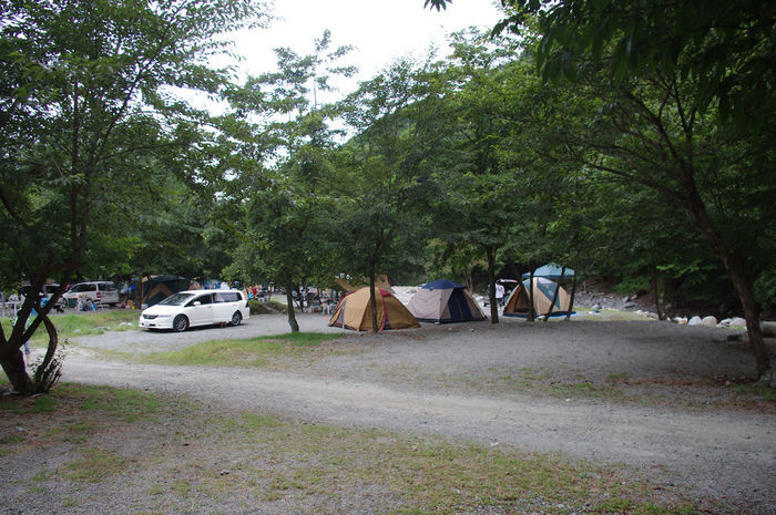 バウアーハウスジャパンのテントサイトの写真