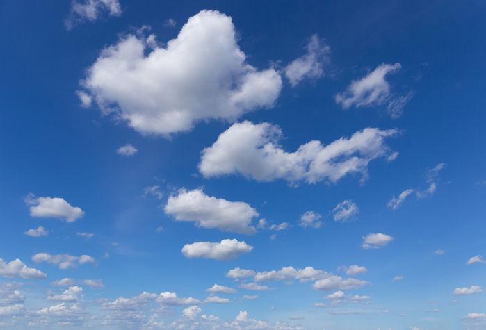 積雲の写真