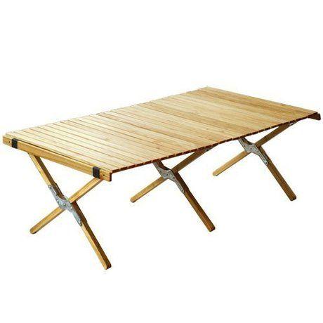 アウトドアテーブルの写真