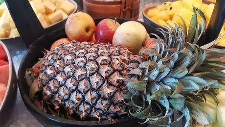 パイナップルのフルーツポンチ