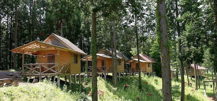 歌瀬キャンプ場のコテージ