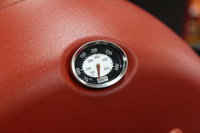 Q1250ガスグリルの温度計