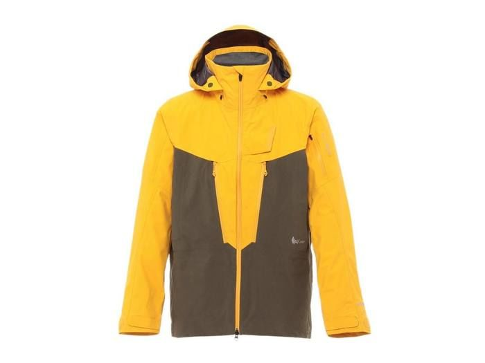AK457 Guide Jacket Bright Yellow/Olive
