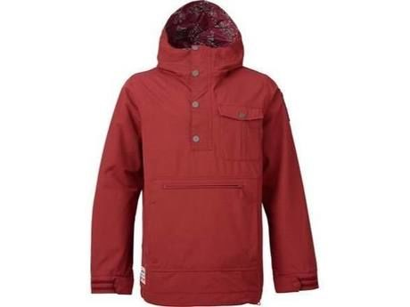 Burton Sawyer Anorak Jacket Tawny