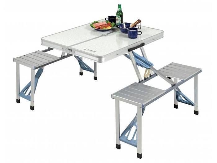 ラフォーレDXアルミピクニックテーブル