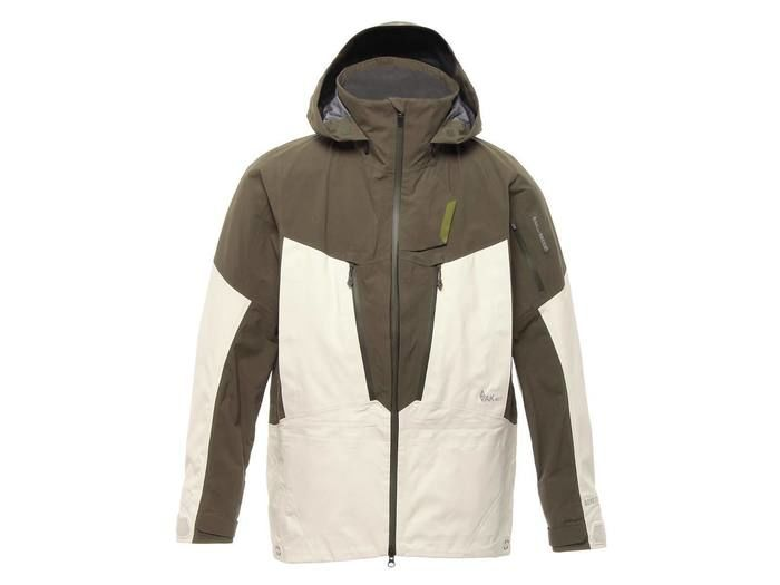 AK457 Guide Jacket Olive/Ivory