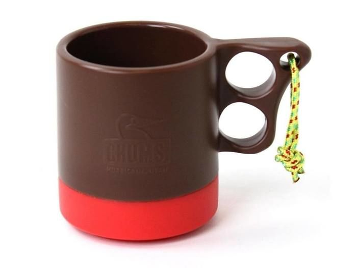 Camper Mug Cup II(Brown/Red)