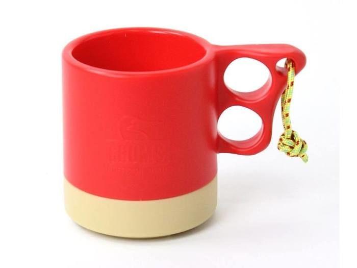 Camper Mug Cup II(Red/Beige)