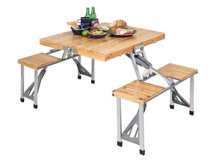 NEWシダー杉製ピクニックテーブル(ナチュラル)