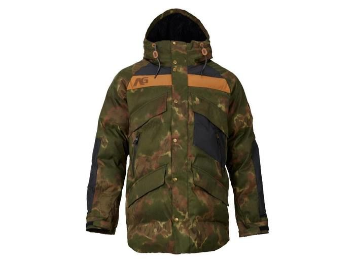 Analog Innsbruck Down Jacket Ink Blot Camo