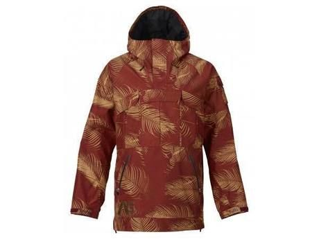 Analog Highmark GORE-TEX® Anorak Jacket Palms Oxblood