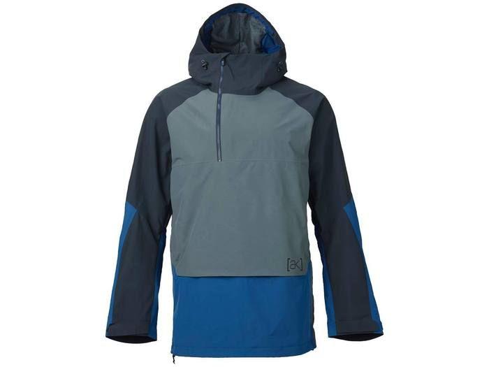 Burton [ak] 2L Velocity Anorak Jacket True Black/Bog/Boro