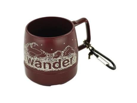 and wander DINEX printed mug cranberry