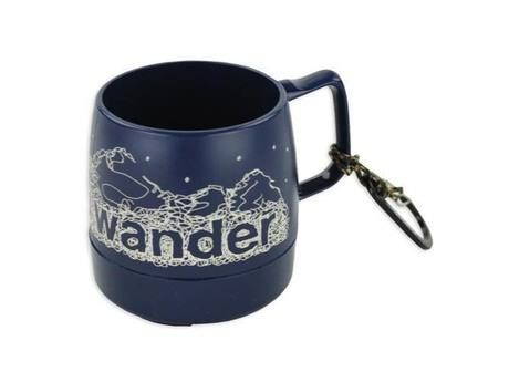 and wander DINEX printed mug navy