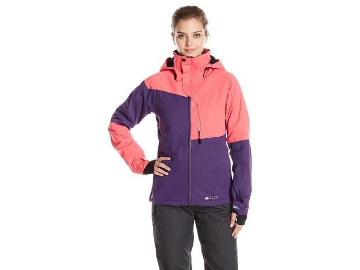 SOLSTICE THERMAGRAPH JACKET Fuschia Diamond Dobby