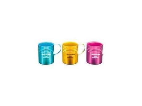 チタン二重マグカップ 330(ピンク)
