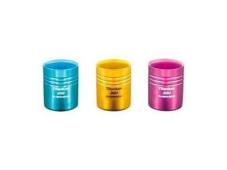 チタン二重カップ 200カラー(ゴールド)