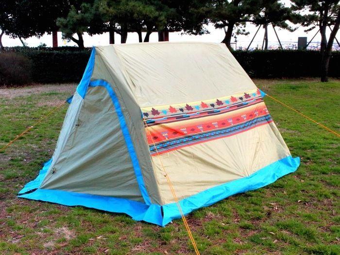 ロゴス「LOGOS ナバホ Tent Type-A」のフルクローズ