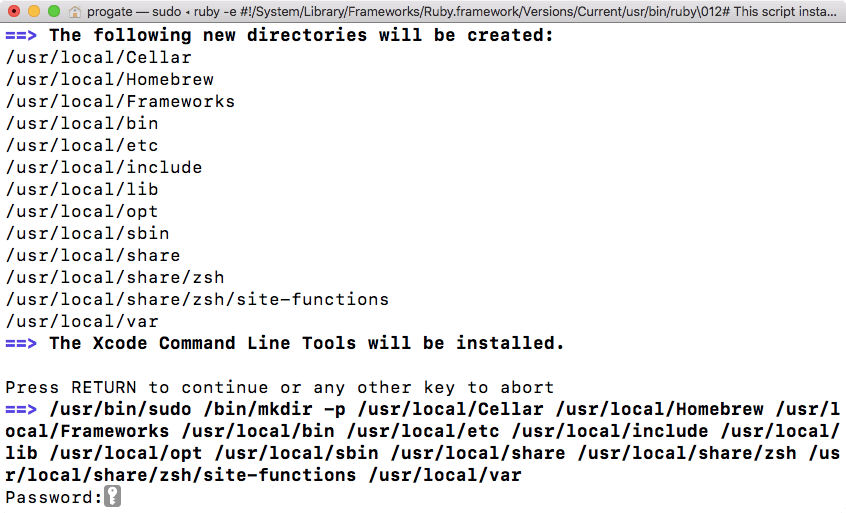 homebrew install python 3.5