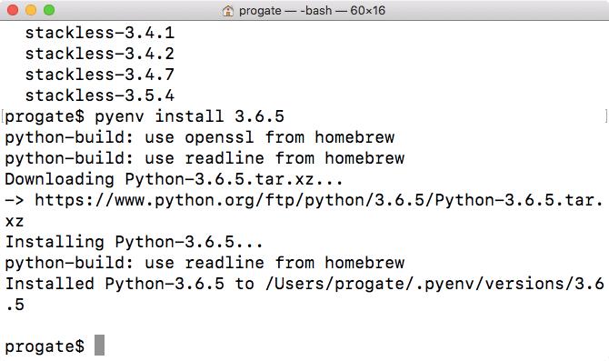 Pythonの開発環境を用意しよう!(Mac) | プログラミングの入門