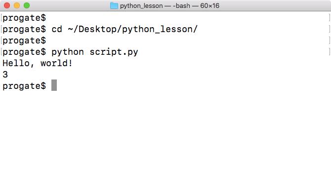 Python Programming Environment Setup (Mac) | Progate - Learn
