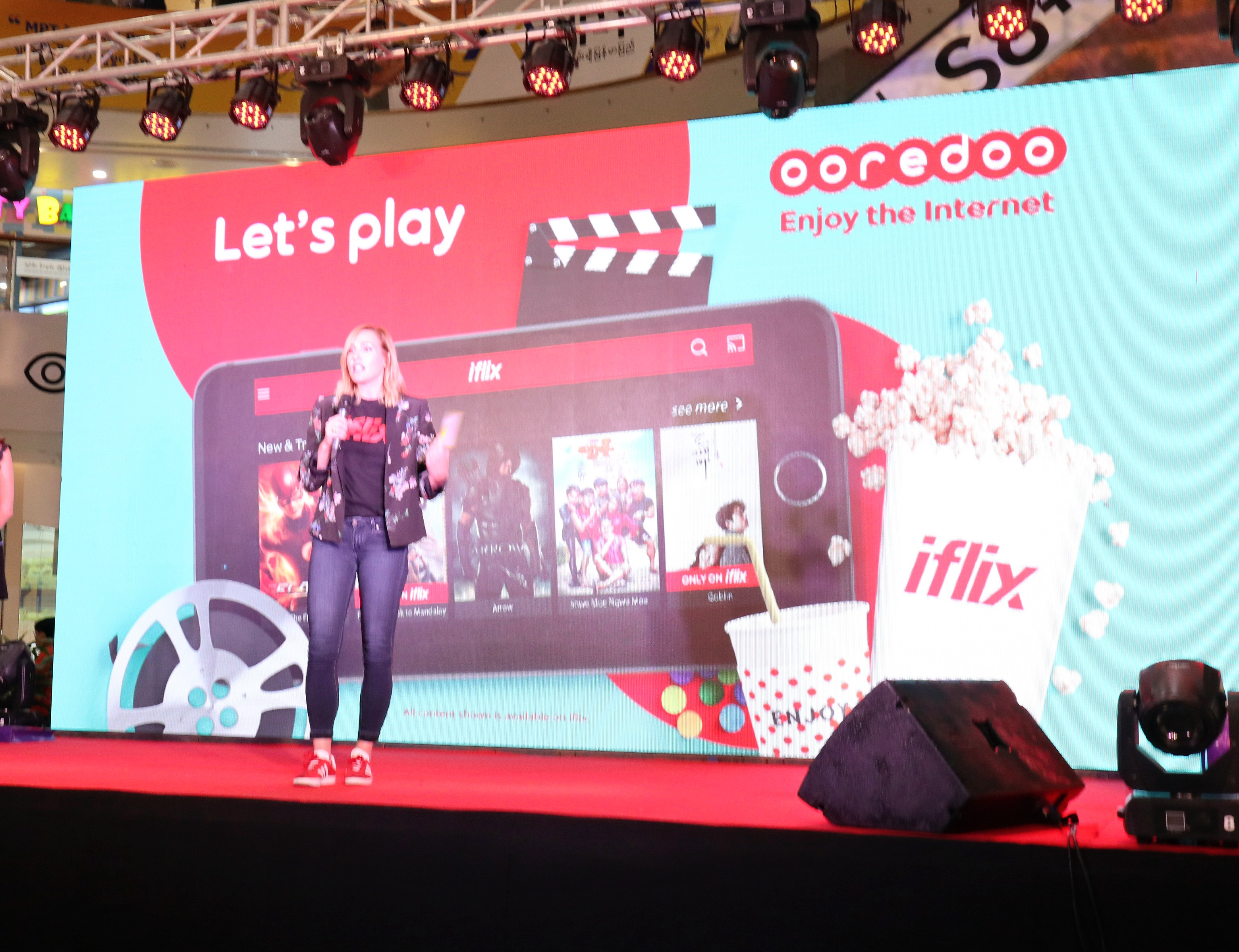 Video streaming key in fight for Myanmar mobile subscribers